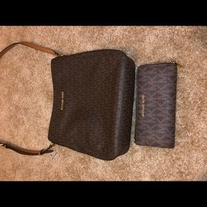 Michael Kors hipster purse and matching wallet